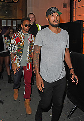 Neymar Jr and Lewis Hamilton seen partying in London for the second night in a row. Lewis and Neymar Jr were seen leaving Tape nightclub at 3.30am. 20 Sep 2017 Pictured: Lewis Hamilton. Photo credit: MEGA TheMegaAgency.com +1 888 505 6342