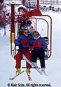 Outdoor recreation, Skiing, ski slopes, downhill skiing PA Ski Slopes, Downhill Skiers, Sking Young Adult Couple Skiers Central PA Ski Slope