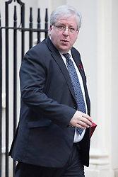 © licensed to London News Pictures. London, UK 29/10/2013. Patrick McLoughlin, Transport Secretary attending to a cabinet meeting in Downing Street on Tuesday, 29 October 2013. Photo credit: Tolga Akmen/LNP