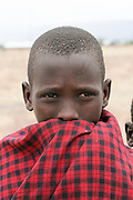 Africa, Tanzania, Maasai an ethnic group of semi-nomadic people