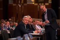 DEU, Deutschland, Germany, Berlin, 11.11.2017: Klaus Wowereit und Michael Müller, Regierender Bürgermeister von Berlin, Landesparteitag der Berliner SPD im Hotel Interconti.