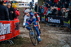 FIELD Ian (GBR) during the Men Elite race, UCI Cyclo-cross World Cup #8 at Hoogerheide, Noord-Brabant, The Netherlands, 22 January 2017. Photo by Pim Nijland / PelotonPhotos.com | All photos usage must carry mandatory copyright credit (Peloton Photos | Pim Nijland)