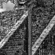 Chichen Itza # 4 Architectural detail. Chichen Itza, Mexico.