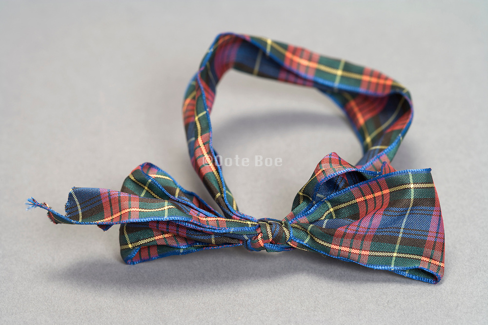 still life of an artistic looking bow tie