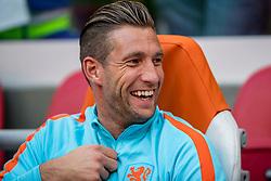 03-09-2017 NED: WK Kwalificatie Nederland - Bulgarije, Amsterdam<br /> Het Nederlands elftal heeft de hoop op deelname aan het WK van volgend jaar in Rusland levend gehouden. Na het echec van Parijs greep Oranje tegen Bulgarije in Amsterdam de laatste strohalm: 3-1 / Maarten Stekelenburg #22