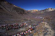 Q'ollyr R'iti - Snow Star festival at a retreating glacier near Ocongate, Peru