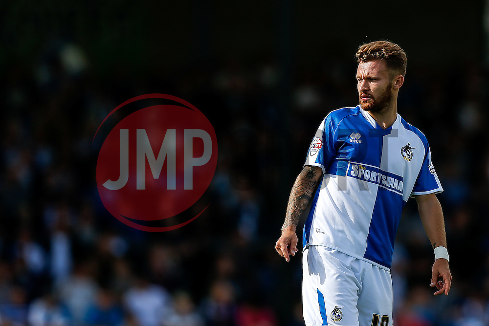 Matt Taylor of Bristol Rovers looks on - Mandatory byline: Rogan Thomson/JMP - 07966 386802 - 12/09/2015 - FOOTBALL - Memorial Stadium - Bristol, England - Bristol Rovers v Accrington Stanley - Sky Bet League 2.
