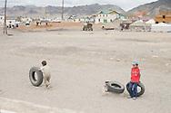 Olgii, Bayan-Ölgii Province in western Mongolia.