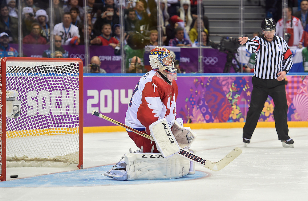 Sochi 2014 Winter Olympic Games: Men's Hockey- USA vs. Russia