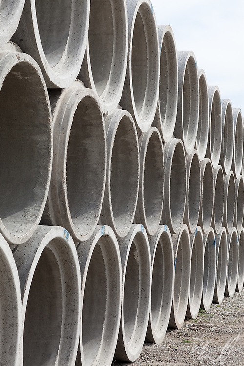 Sewer pipes in Greenfield, IN