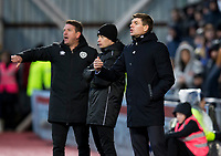 Football - 2019 / 2020 William Hill Scottish Cup - Quarter-Final: Heart of Midlothian vs. Rangers<br /> <br /> Rangers manager Steven Gerrard during the match, at Tynecastle Park, Edinburgh.<br /> <br /> COLORSPORT/BRUCE WHITE