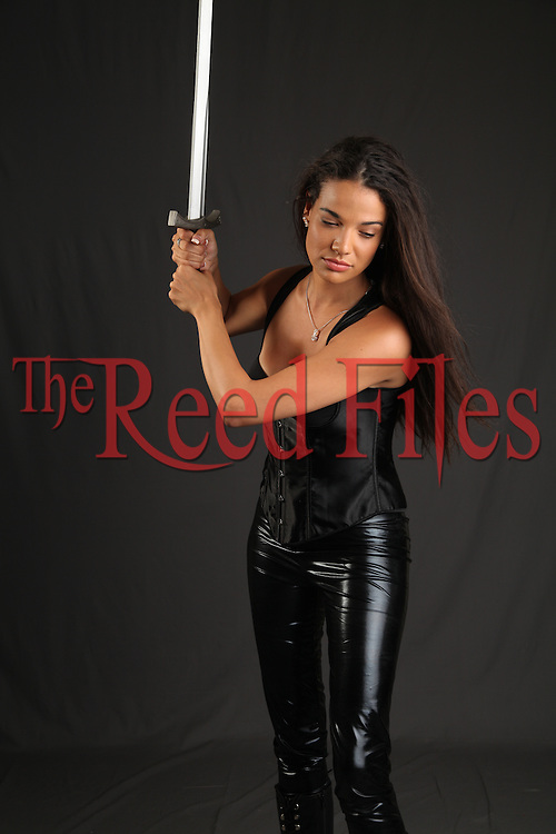 The Reed Files Urban Fantasy Woman Stock Image