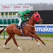 Seamster and Graham Lee winning the 2.35 race