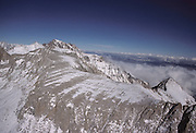 Aerial Photo, Mt. Whitney, Winter, Sequoia and Kings Canyon National Parks, California