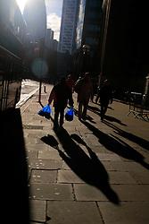 UK ENGLAND LONDON 8DEC13 - Pedestrians near Liverpool Street in the city of London.<br /> <br /> <br /> <br /> jre/Photo by Jiri Rezac<br /> <br /> <br /> <br /> © Jiri Rezac 2013
