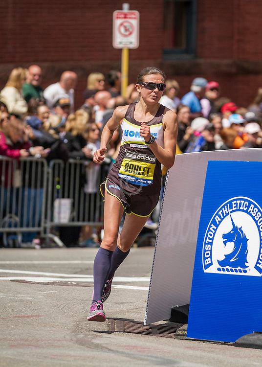 2014 Boston Marathon: Magdalena Lewy-Boulet