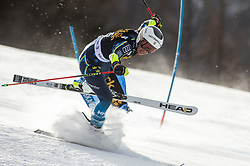 LUTHMAN Jonna of Sweden competes during the Ladies' GiantSlalom at 56th Golden Fox event at Audi FIS Ski World Cup 2019/20, on February 15, 2020 in Podkoren, Kranjska Gora, Slovenia. Photo by Matic Ritonja / Sportida
