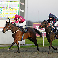 Sudden Wish and Ryan Moore winning the 5.30 race
