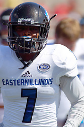17 September 2016:  Bradley Dewberry.  NCAA FCS Football game between Eastern Illinois Panthers and Illinois State Redbirds for the 105th Mid-America Classic on Family Dat at Hancock Stadium in Normal IL (Photo by Alan Look)