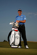 Retief Goosen photoshot with bag at Qatar Masters 2012, Doha. <br /> Mandatory Picture Credit: Mark Newcombe / visionsingolf.com