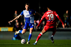 Alfie Kilgour of Bristol Rovers is marked by Recco Hackett-Fairchild of Bromley - Mandatory by-line: Ryan Hiscott/JMP - 10/11/2019 - FOOTBALL - Memorial Stadium - Bristol, England - Bristol Rovers v Bromley - Emirates FA Cup first round