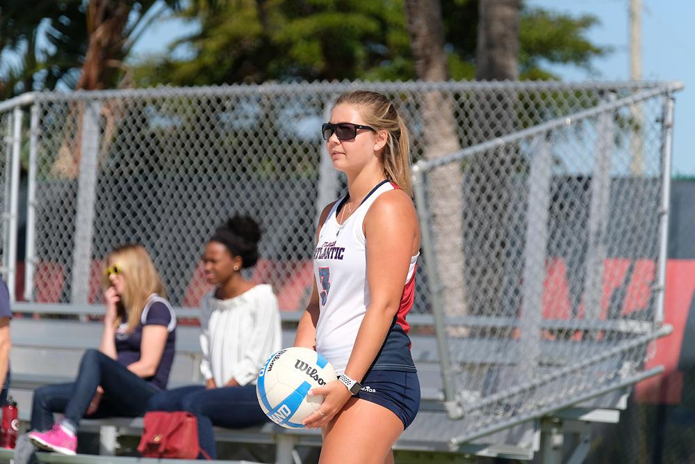 2018 FAU Beach Volleyball vs Webber State
