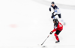 Chris Lee of Canada vs Oskar Osala of Finland during the 2017 IIHF Men's World Championship group B Ice hockey match between National Teams of Canada and Finland, on May 16, 2017 in AccorHotels Arena in Paris, France. Photo by Vid Ponikvar / Sportida