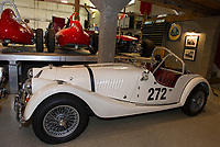 Morgami Motor Company British made in 1963 will be one of the antique race cars on display in July for the Boys and Girls Club fundraising event.   (Karen Bobotas/for the Laconia Daily Sun)