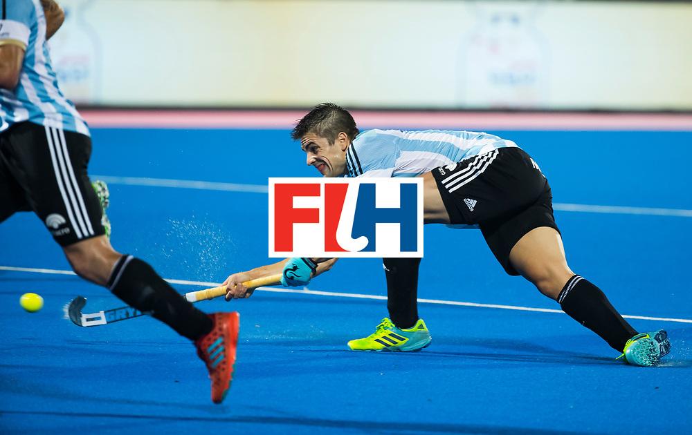 BHUBANESWAR - Gonzalo Peillat (Arg).  Hockey World League finals , Final Australia-Argentina (2-1) . Australia wint de finale. COPYRIGHT KOEN SUYK