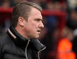 Blackpool manager Lee Clark - Photo mandatory by-line: Robbie Stephenson/JMP - Mobile: 07966 386802 - 14/03/2015 - SPORT - Football - Bournemouth - Dean Court - AFC Bournemouth v Blackpool - Sky Bet Championship