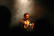 Morris Day performing at Summerfest 2005 in Milwaukee, WI. (Charles Hall/challphotos.com)