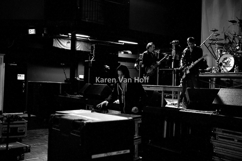 Behind the scenes photos with Three Days Grace and My Darkest Days in Cincinnati, Washington, D.C. and Baltimore in April of 2011