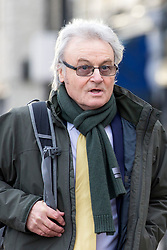 © Licensed to London News Pictures. 13/11/2017. Wakefield UK. Don Maguire (Husband of Ann Maguire) arrives at Wakefield Coroners Court this morning. The inquest into the death of Leeds teacher Ann Maguire is starting today at Wakefield Coroners Court. Mrs Maguire, a 61 year old Spanish teacher, was stabbed to death by Will Cornick at Corpus Christi Catholic College in Leeds in April 2014. The school pupil, who was 15 at the time, admitted murdering Mrs Maguire and was given a life sentence later that year. Since then, some of Mrs Maguire's family have campaigned for further investigation into her death as they believe more could have been done to prevent the tragedy. Photo credit: Andrew McCaren/LNP