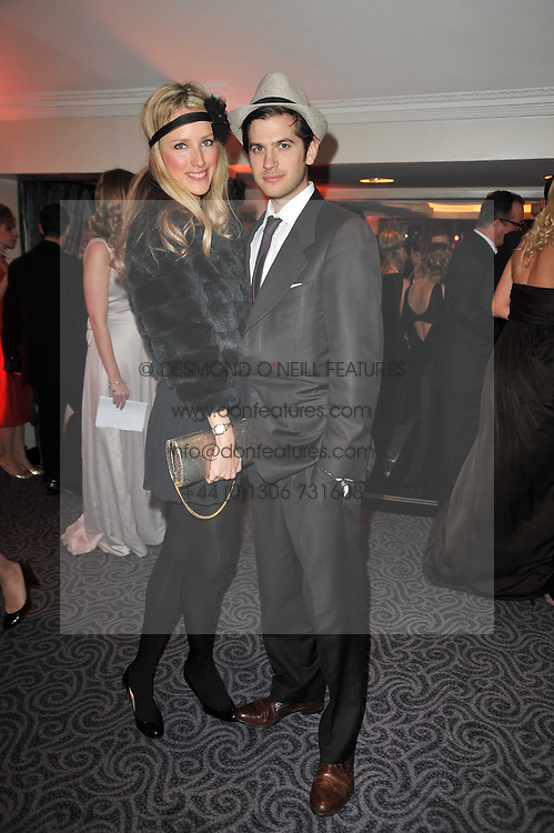 JACK & KATE FREUD at Quintessentially's 10th birthday party held at The Savoy Hotel, London on 13th December 2010.
