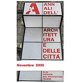 ANNALI DELL'ARCHITETTURA