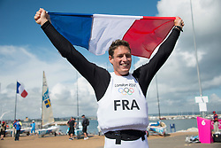 2012 Olympic Games London / Weymouth<br /> Finn Medal Race<br /> Lobert Jonathan, (FRA, Finn)