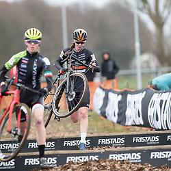 12-01-2020: Wielrennen: NK Veldrijden: Rucphen<br />Ilse Pluimers, Fem van Empel