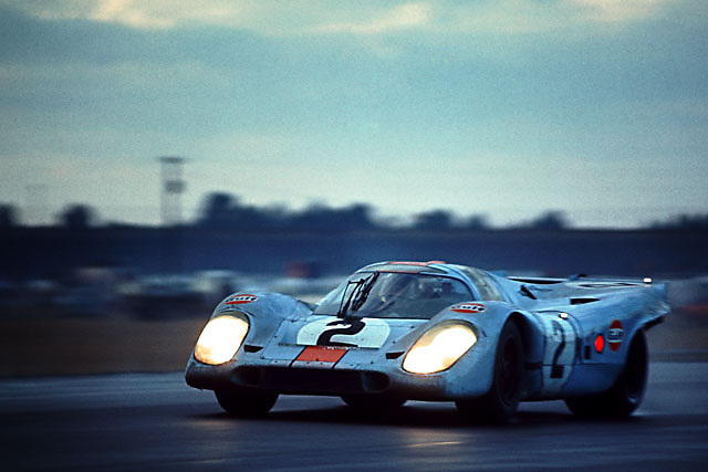 Winning Porsche 917K at 1971 Daytona 24-hour