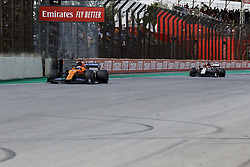 November 17, 2019, Sao Paulo, SP, Brazil: CARLOS SAINZ of the McLaren F1 Team  during Brazilian Formula 1 Grand Prix at Interlagos racetrack. (Credit Image: © Marcelo Chello/ZUMA Wire)