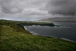 IRELAND KERRY IVERAGH PENINSULA 4NOV05 - Coastal landscape on Valentia island near Portmagee on the Iveragh Peninsula in county Kerry, Irelands most westerly county...jre/Photo by Jiri Rezac..© Jiri Rezac 2005..Contact: +44 (0) 7050 110 417.Mobile: +44 (0) 7801 337 683.Office: +44 (0) 20 8968 9635..Email: jiri@jirirezac.com.Web: www.jirirezac.com..© All images Jiri Rezac 2005 - All rights reserved.