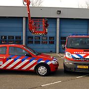 Nieuwe voertuigen voor de officieren van de Brandweer Huizen
