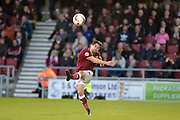 Northampton Town Defender David Buchanan during the Sky Bet League 2 match between Northampton Town and Crawley Town at Sixfields Stadium, Northampton, England on 19 April 2016. Photo by Dennis Goodwin.