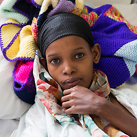 A young fistula patient in Addis Ababa