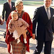 Doop Claus-Casimir Apeldoorn, prinses Maxima, prinses Catherina Amalia, prins Willem Alexander