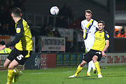 Jamie Murphy of Burton Albion (29) clips the ball down the wing during the EFL Sky Bet League 1 match between Burton Albion and Oxford United at the Pirelli Stadium, Burton upon Trent, England on 11 February 2020.