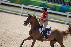 Cordon Pilar, ESP, Gribouille du Lys<br /> Olympic Games Rio 2016<br /> © Hippo Foto - Dirk Caremans<br /> 13/08/16