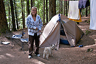 A camping trip to Alice Lake.