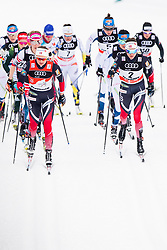 January 6, 2018 - Val Di Fiemme, ITALY - 180106 Ingvild Flugstad ¯stberg of Norway and Heidi Weng of Norway compete in women's 10km mass start classic technique during Tour de Ski on January 6, 2018 in Val di Fiemme..Photo: Jon Olav Nesvold / BILDBYRN / kod JE / 160122 (Credit Image: © Jon Olav Nesvold/Bildbyran via ZUMA Wire)