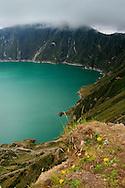 Alberto Carrera, Quilotoa Lake, Quilotoa Volcano, Zumbahua, Ecuador, South America