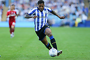 Sheffield Wednesday midfielder Kadeem Harris (7) during the EFL Sky Bet Championship match between Sheffield Wednesday and Fulham at Hillsborough, Sheffield, England on 21 September 2019.